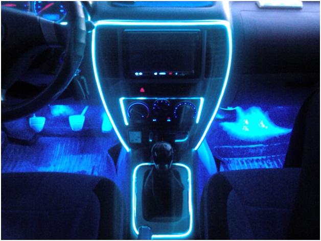 Подсветка в авто своими руками фото