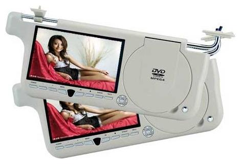 Козырек с монитором DVD+TV+USB