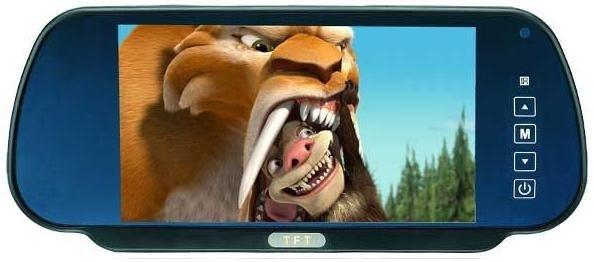 Зеркало салонное с монитором TFT LCD
