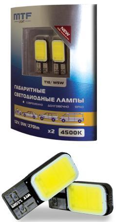 Светодиоды без цокольные в габарит,подсветку номера MTF 4500K,5500К