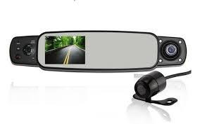 Видеорегистратор в зеркале заднего вида DVR-320