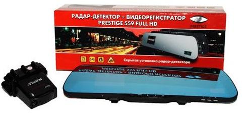 Видеорегистратор +Радар PRESTIGE 559 Full HD