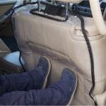 Защита сидений от грязи на спинку переднего автокресла