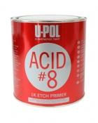 Грунт протравливающий серый в банке ACID 8 1л U-POL ACID/1