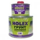 Грунт эпоксидный антикоррозионный 2К 4:1 светло-серый 0,4л+0,1 отвердитель HOLEX HAS-96541
