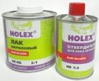 Лак акриловый 2K HS 2:1 Anti-Scratch (0,5л)+отвердитель для лака HS Anti-Scratch (0,25л) HOLEX HAS-5147+HAS-96459