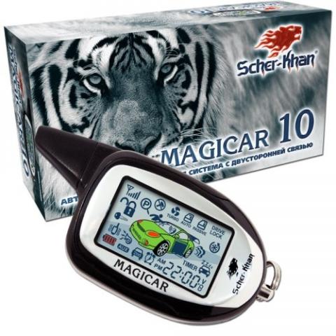 Автомобильная сигнализация SCHER-KHAN MAGICAR 10