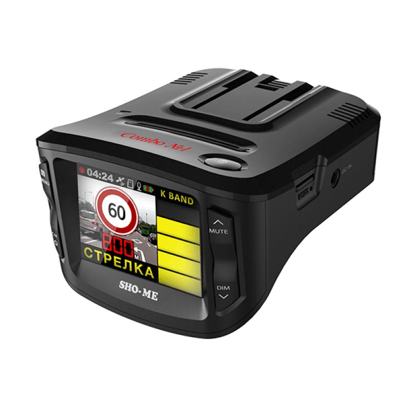Видеорегистратор и радар-детектор SHO-ME Combo №1