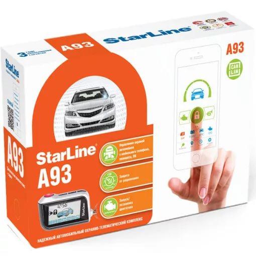 Автомобильная сигнализация Starline A93 2can+2lin
