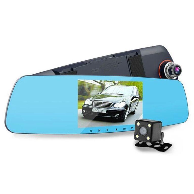 Зеркало заднего вида с видеорегистратором + Камера EPLUTUS D09