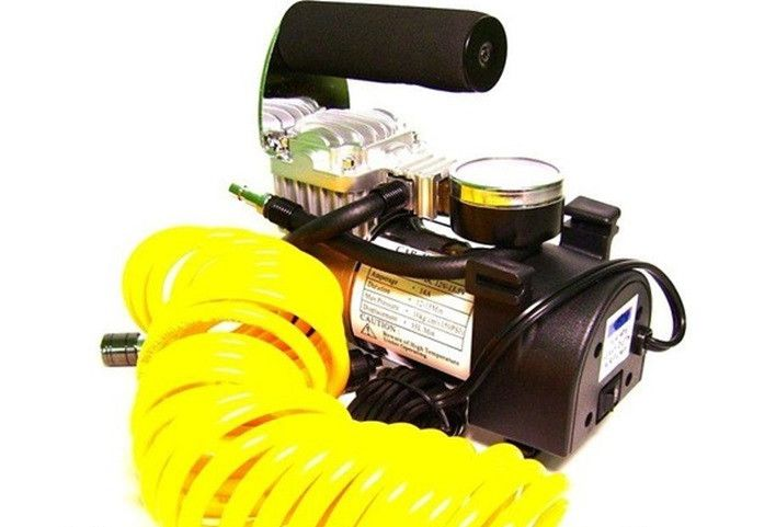 Компрессор автомобильный Тайфун 802SD2 12V 50л/мин.