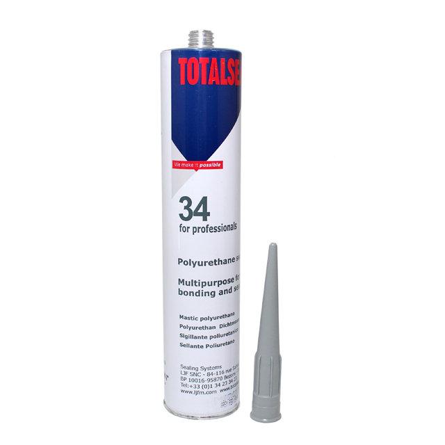 Герметик полиуретановый серый 310 ml TOTALSEAL TS34GC