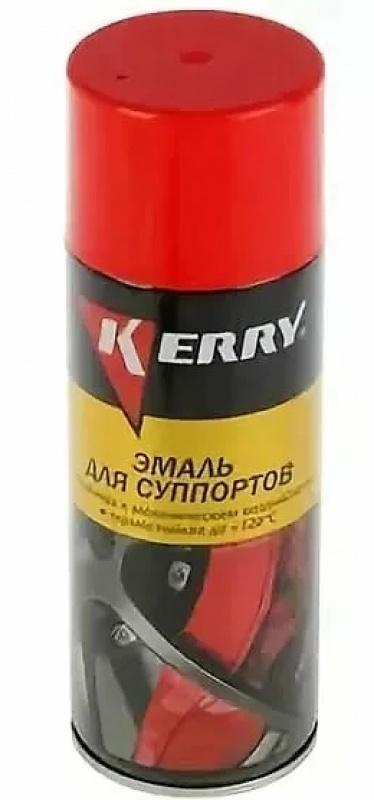 Эмаль термостойкая для суппортов красная 520мл KERRY KR-962.1
