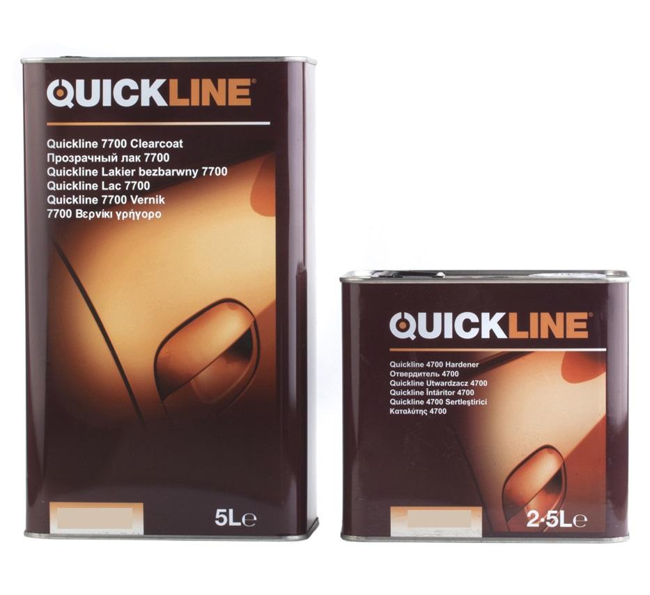 Лак прозрачный HS (5л+2,5л отвердитель 4420) QUICKLINE 7400/S5-QC