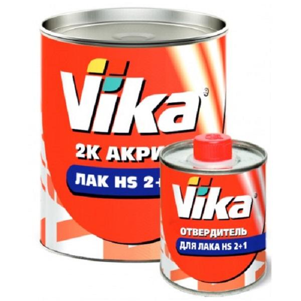 Лак акриловый 2+1 HS (0.5кг)+отвердитель (0,25кг), Vika